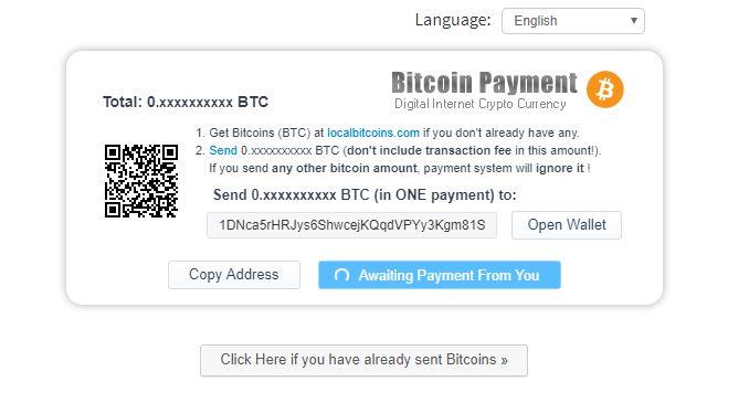 registrati bitcoin
